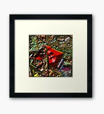BACK TO THE WOODSHED Framed Print