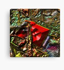 BACK TO THE WOODSHED Canvas Print