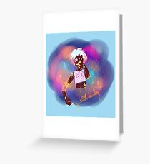 Colorful gore Greeting Card