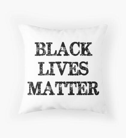 Black Lives Matter Throw Pillow