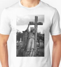 Angel with cross Brompton Cemetery T-Shirt
