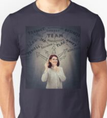 Successful businesswoman thoughts Unisex T-Shirt