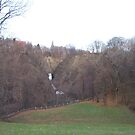 Church on the Edge of Poestenkill Gorge by batkins