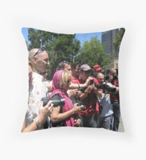 sydney redbubblers unite! Throw Pillow