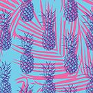 Vintage inspired Pineapple print by tylersmithh