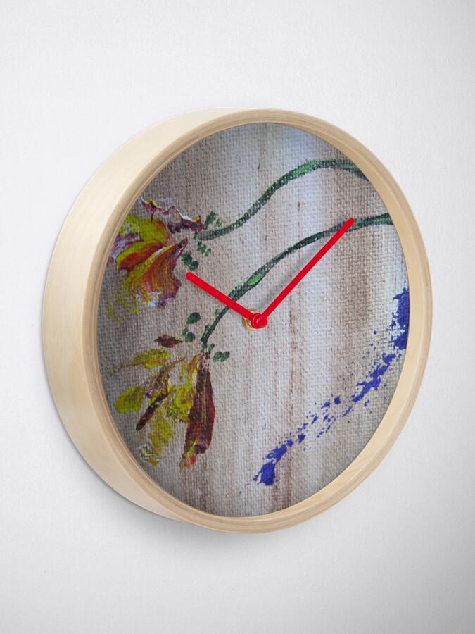 Alternate view of Flowers Clock
