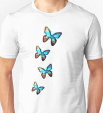Space Butterfly, Butterflies, Galaxy, Universe, Planet, Nature Unisex T-Shirt