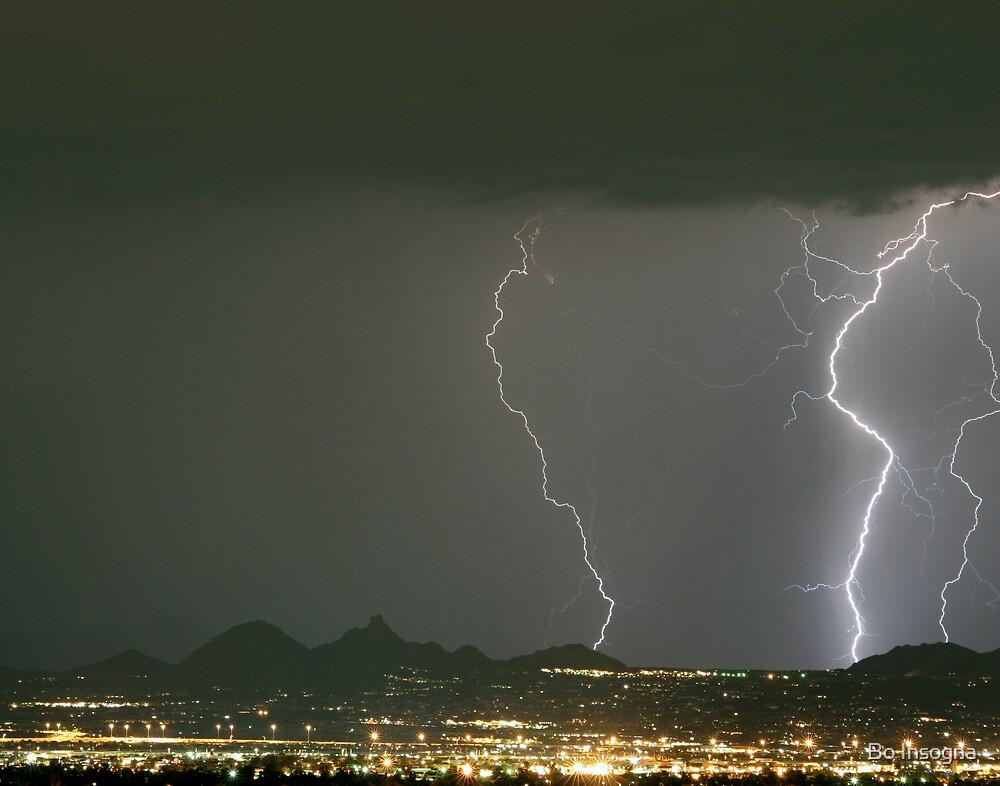 Lightning Storm by Bo Insogna