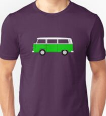 VW Type 2 Green Unisex T-Shirt