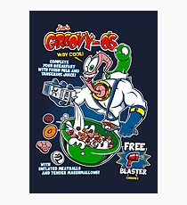 Groovy-Os Cereal v2 Photographic Print