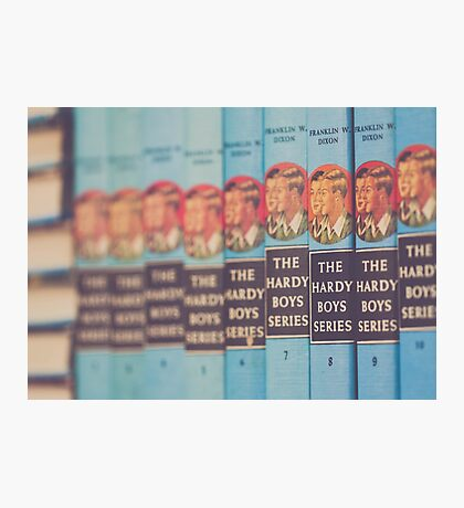 Hardy Boys Book Collection Photographic Print
