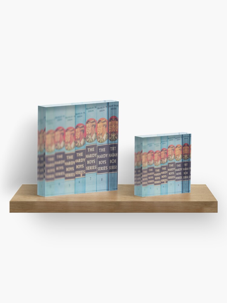 Alternate view of Hardy Boys Book Collection Acrylic Block