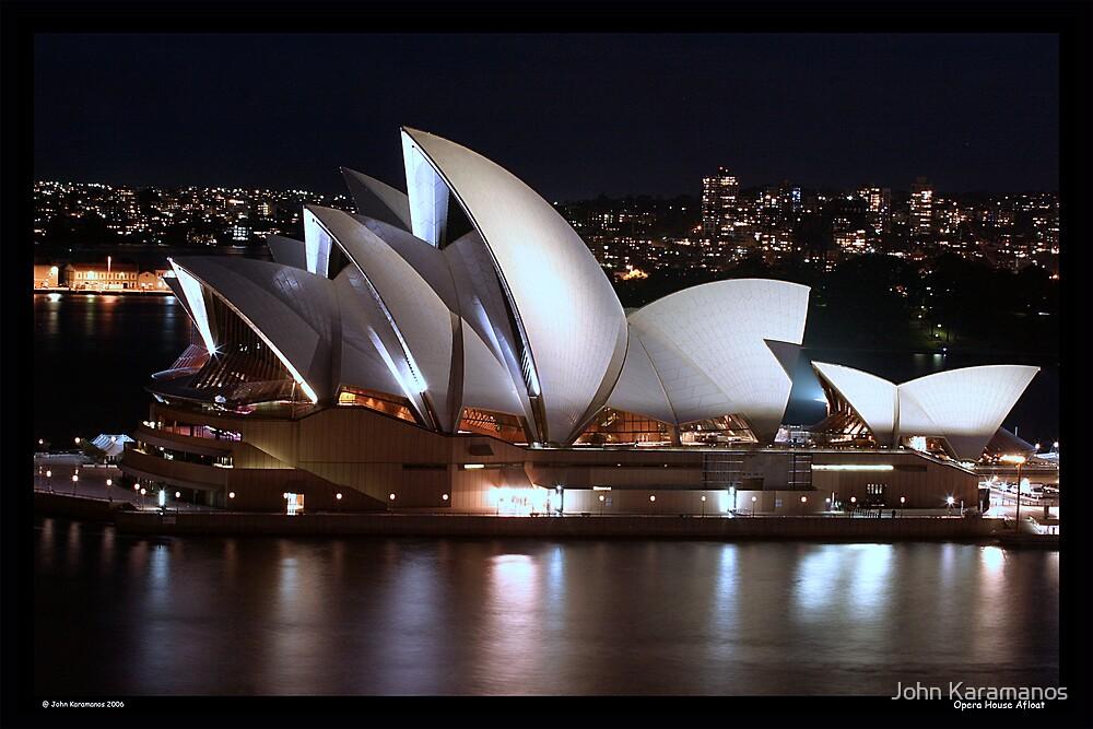 Opera House Afloat by John Karamanos