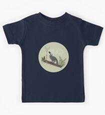 Utahraptor in the Forest Kids Tee