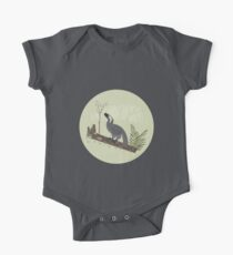 Utahraptor in the Forest One Piece - Short Sleeve
