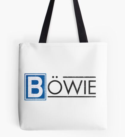 Bowie's Berlin - U-Bahn Logo Tote Bag