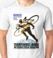 CYCLOCROSS: Vintage Bicycle Racing Advertising Print Unisex T-Shirt