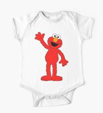 Elmo says hello One Piece - Short Sleeve