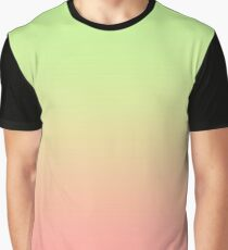 Shades of light green and pourple Graphic T-Shirt