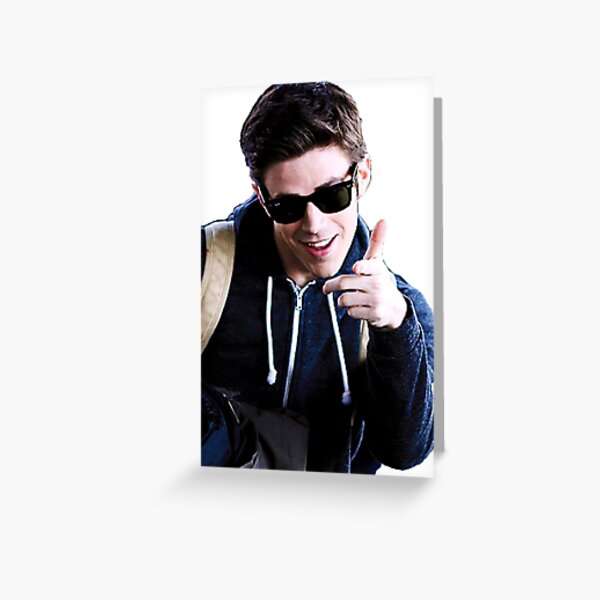 Grant Gustin Greeting Card