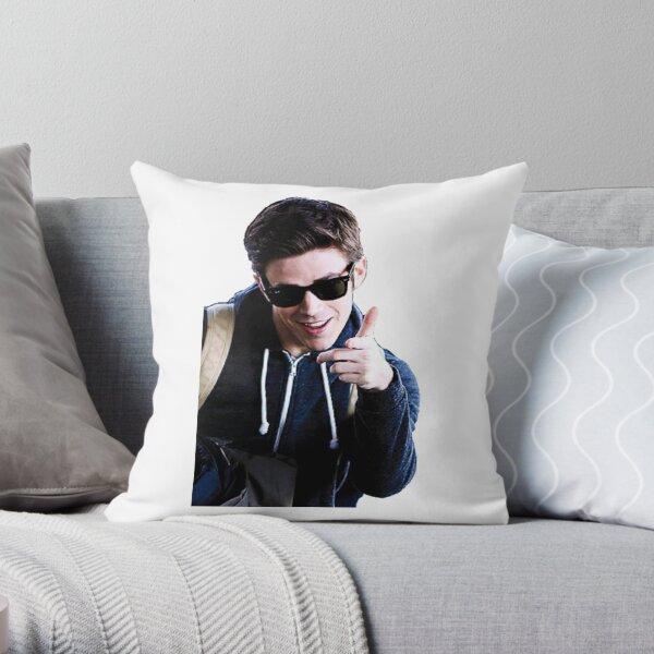 Grant Gustin Throw Pillow