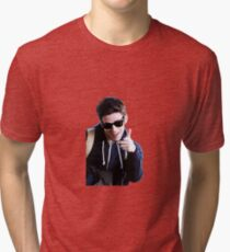 Grant Gustin Tri-blend T-Shirt