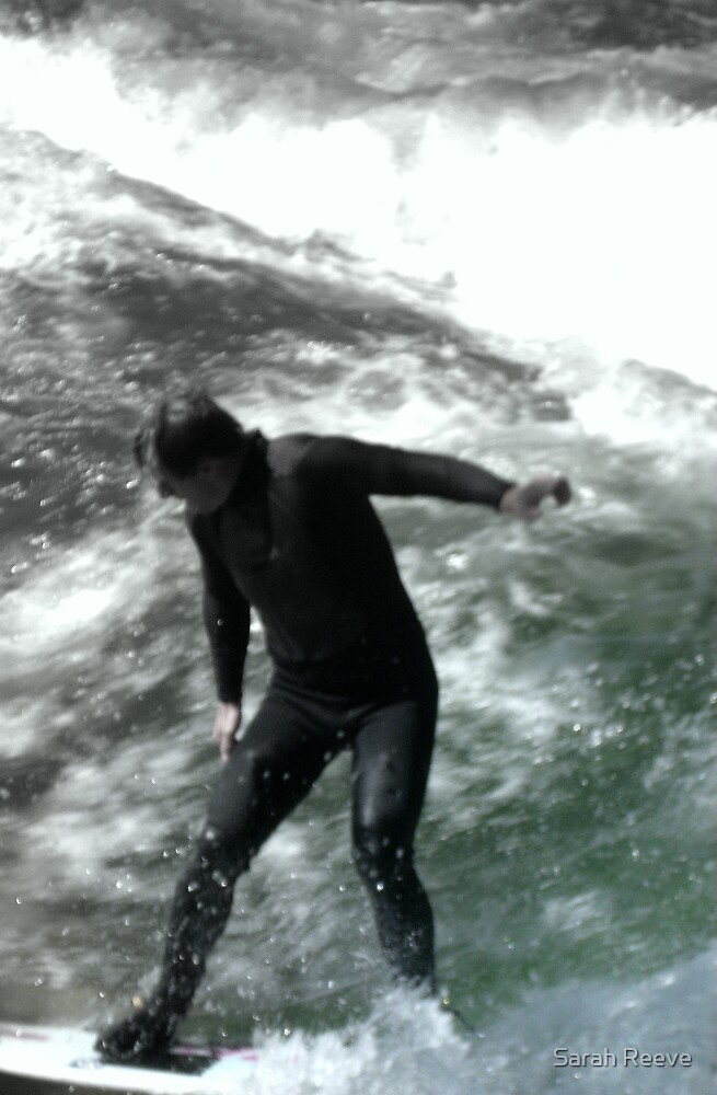Spring Surfing by Sarah Reeve
