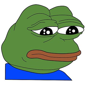 Sad Pepe by NamePending