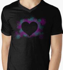 Neon Love... Mens V-Neck T-Shirt