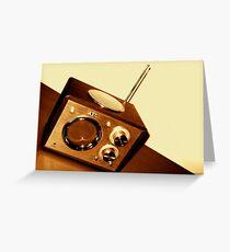 OldSkool Greeting Card