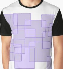 'Cubicle' Abstract Minimalist Artwork Graphic T-Shirt