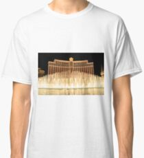 The fountains at Bellagio Classic T-Shirt
