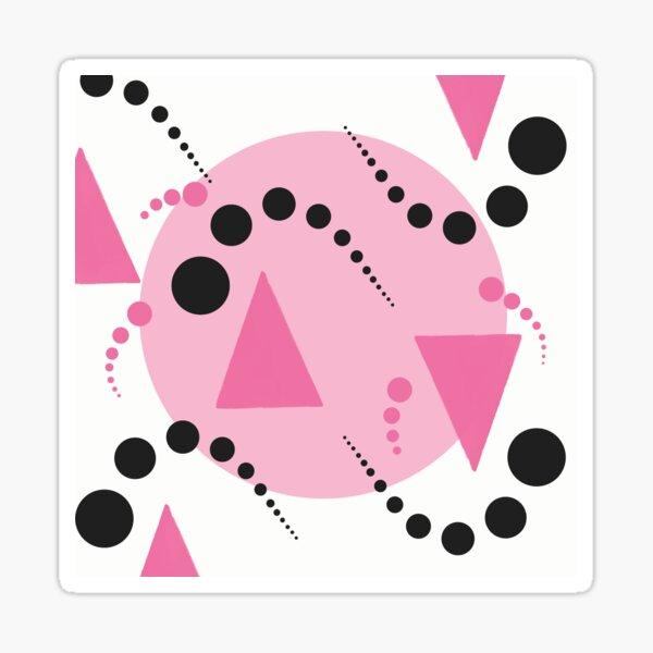 Pink Bubbles  Sticker