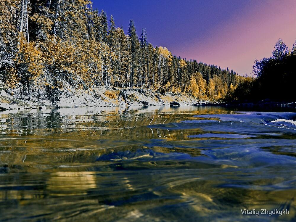 Flatbed Creek by Vitaliy Zhydkykh
