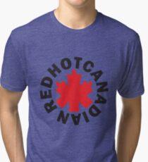 Red Hot Canadian Tri-blend T-Shirt