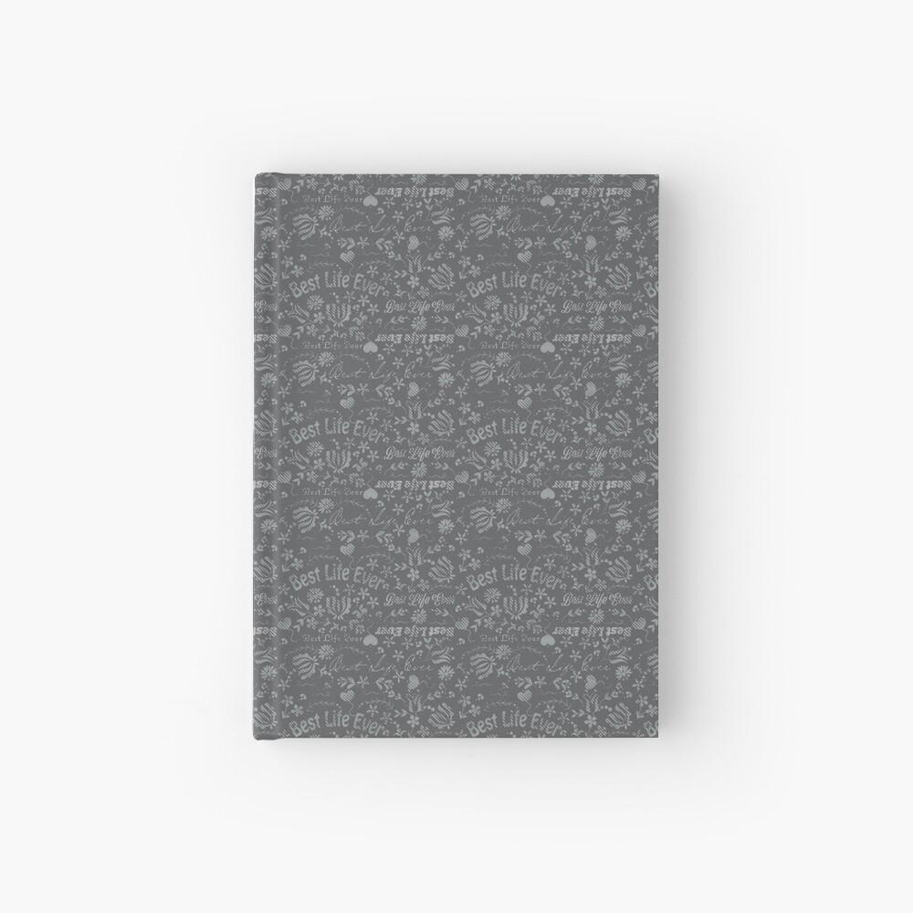Best Life Ever Grey Chalkboard Hardcover Journal