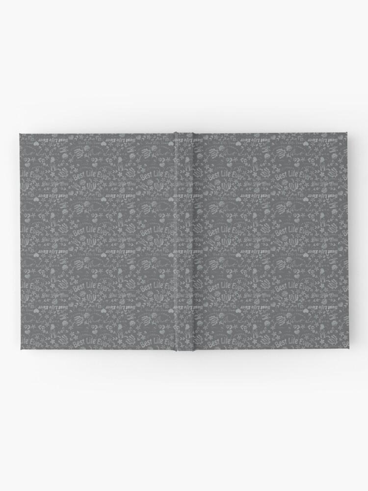 Alternate view of Best Life Ever Grey Chalkboard Hardcover Journal