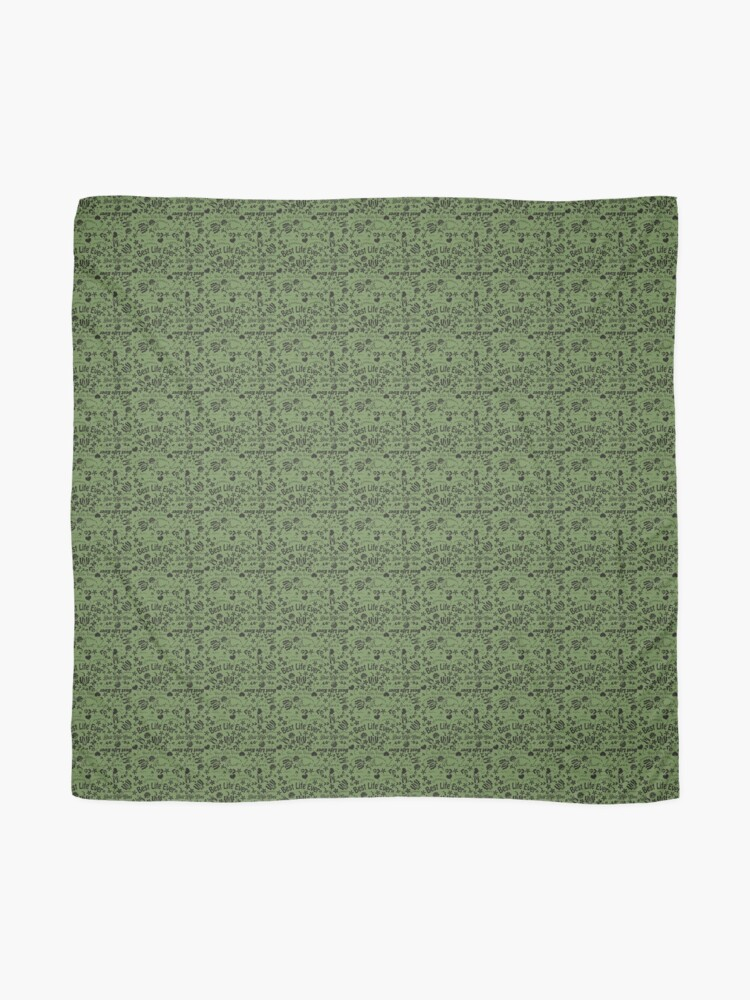 Alternate view of Best Life Ever Emerald Green Scarf