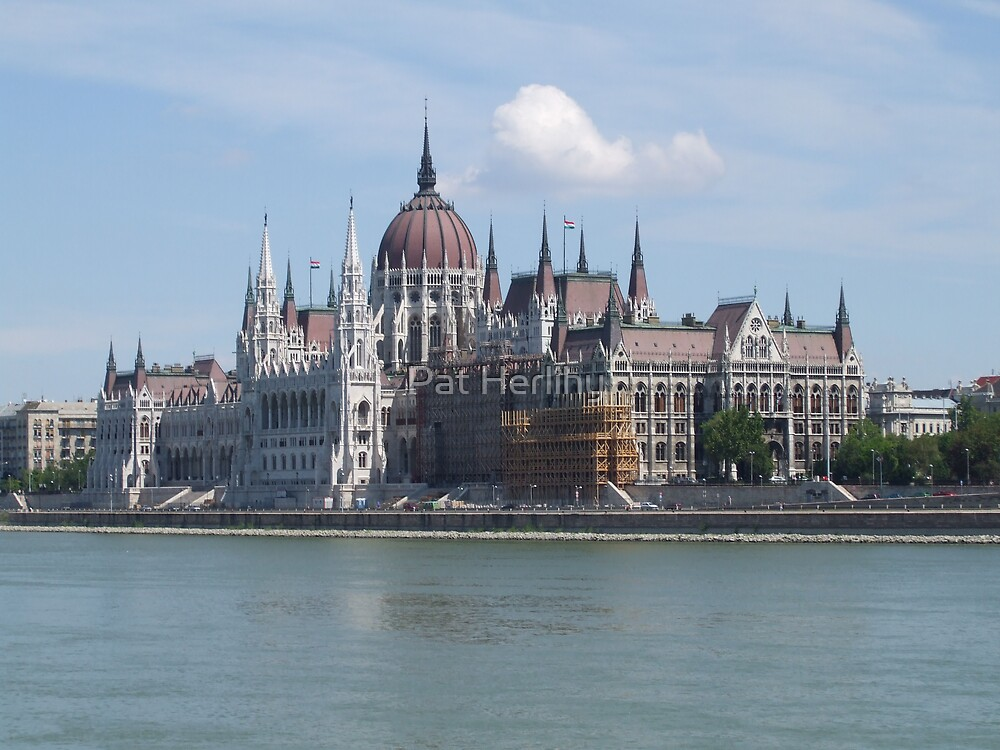 Budapest Parliament Building by Pat Herlihy