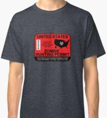 Camiseta clásica Permiso Zombie Hunting 2017/2018