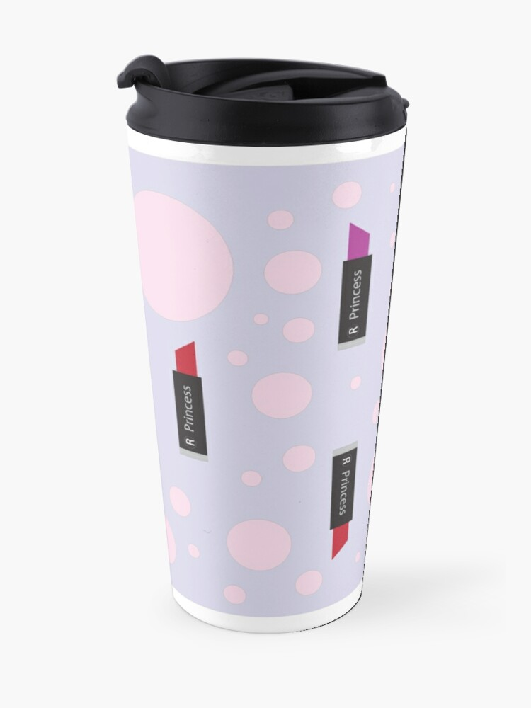 Alternate view of Lipstick is a Girls Best friend Travel Mug