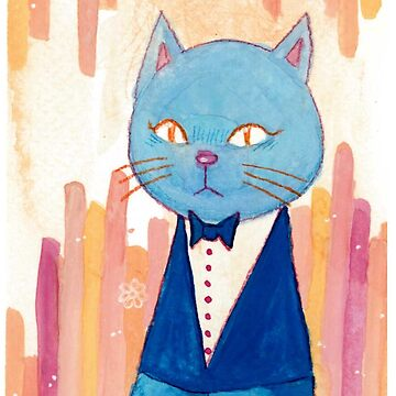 Mr Blue Cat by vivianz