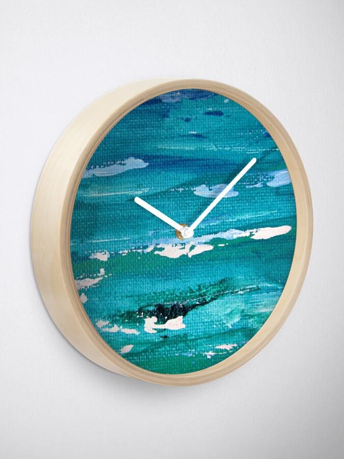 Alternate view of Nautical pattern Clock