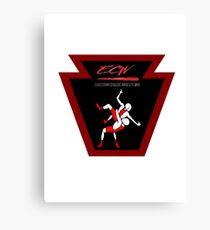 ECW Logo Canvas Print