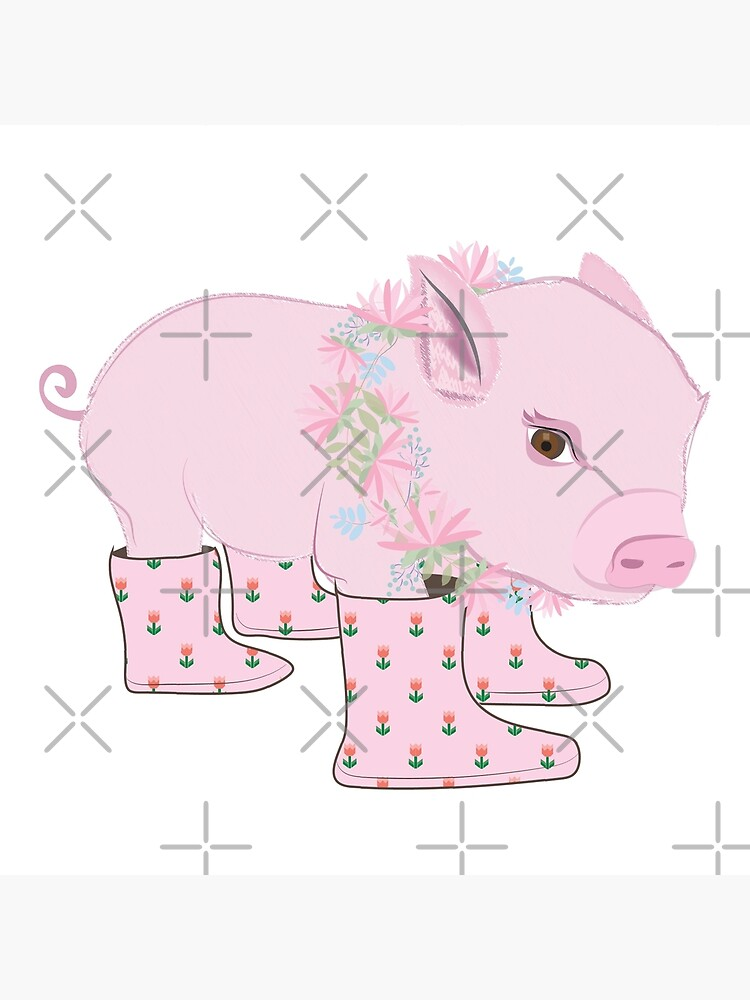 Pink Piglet by CreativeContour