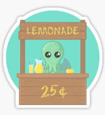 The Stall of Cthulhu Lime 2 Sticker
