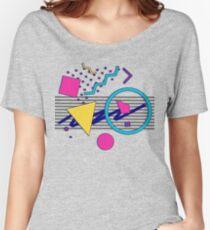 Camiseta ancha para mujer Sensaciones de 1988 - Estilo Retrowave / Outrun / Memphis Milano de los 80