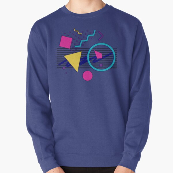 1988 Sensations - 80's Retrowave / Outrun / Memphis Milano Style Pullover Sweatshirt