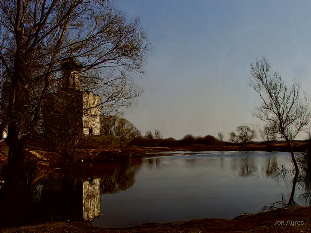Church of the Intercession on the Nerl4 by Jon Ayres