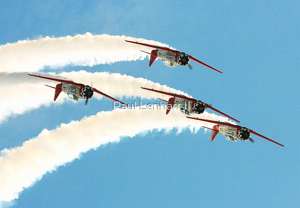 Aeroshell Team #2 by Paul Lenharr II